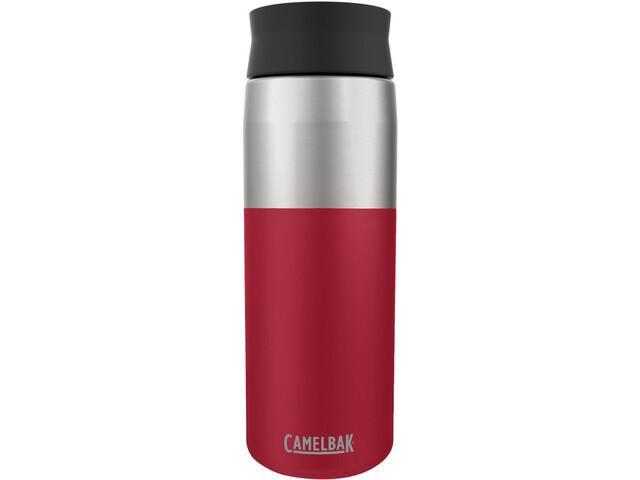 CamelBak Hot Cap Bouteille isotherme en inox 600ml, cardinal